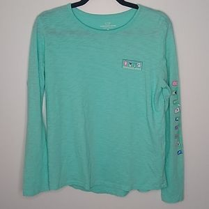 Vineyard Vines Long Sleeve Tee Size Medium